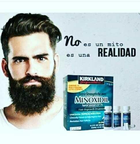 Minoxidil Kirkland 5% / Crecimiento Barba Cabello/ Americano
