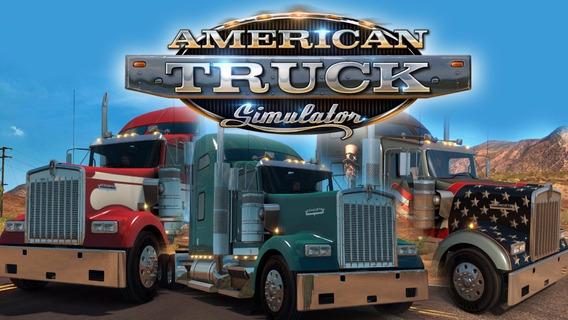 American Truck Simulator + 19 Dlc (mídia Física - Dvd Pc)