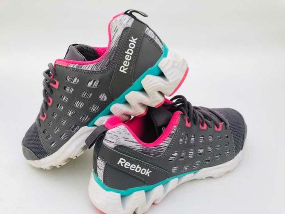 Zapatillas Deportivas Reebok Dama Mujer Excelente Estado!!!
