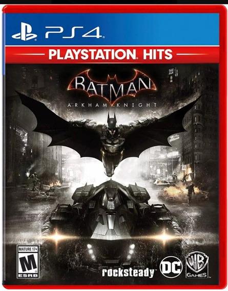 Batman Arkham Knight Ps4 Midia Fisica Lacrado