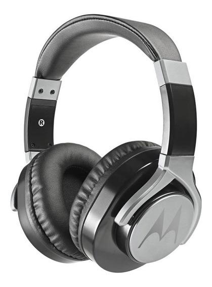 Fone De Ouvido Motorola Estereo Pulse Max, Microfone - Preto