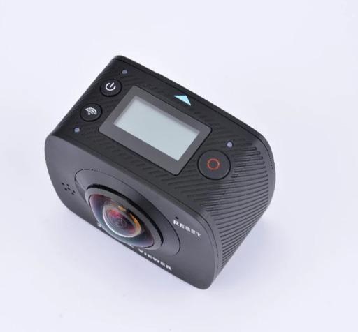 Duas Lentes 360 Graus Câmera Amkov Amk200s