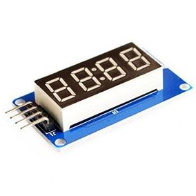 Módulo Display Sete Segmentos 4 Dígitos Tm1637 Arduino Pic