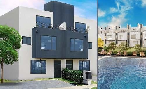 Preciosa Casa En El Mirador, 3 Niveles, 3 Recamaras, Alberca