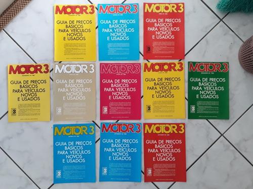 Encartes Suplemento Revista Guia Preços Veículos Carro 1982