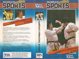 Campeonato Internacional De Karate Vhs En Castellano