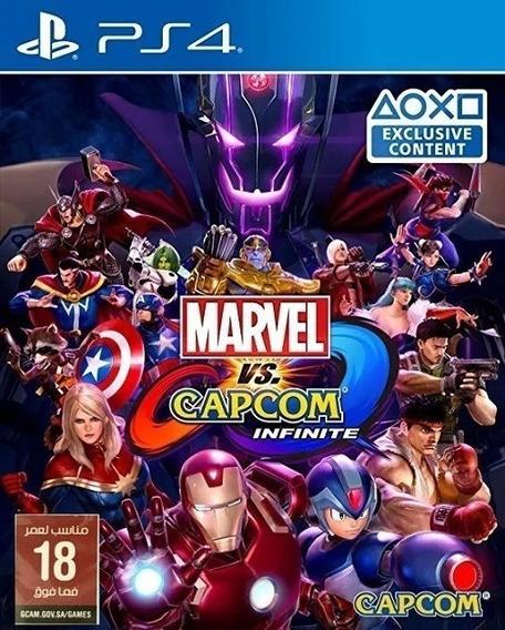 Ps4 Marvel X Capcom Infinite Midia Fisica Lacrado