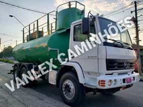 Caminhao Pipa Tanque De Agua Bombeiro Traçado 6x4 Atron 2729