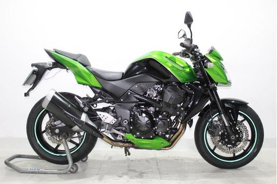 Kawasaki Z 750 Abs 2012 Verde