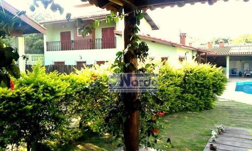 Imagem 1 de 16 de Chácara Residencial À Venda, Recanto Amapola, Bragança Paulista. - Ch0016