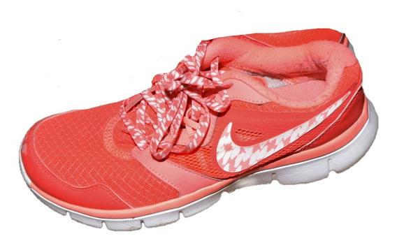 Nike Zapatillas Con Pipa Blanca Arg 7 Excelente Estado Usada
