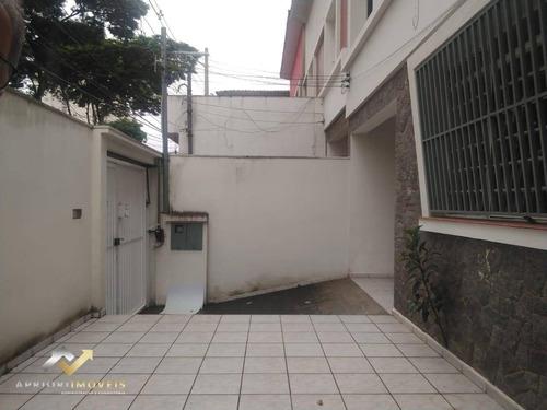 Sobrado Para Alugar, 170 M² Por R$ 3.000,00/mês - Jardim Bela Vista - Santo André/sp - So0818
