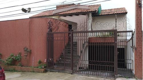 Imagem 1 de 30 de Sobrado À Venda, 5 Quartos, 1 Suíte, 7 Vagas, Junqueira - Santo André/sp - 54787