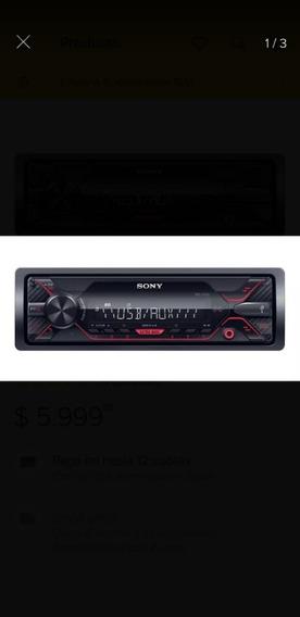 Stereo Auto Sony Usb Aux Dsx-a110 4x55 W