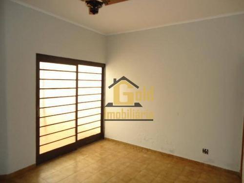 Casa Com 3 Dormitórios À Venda, 176 M² Por R$ 360.000,00 - Parque Dos Bandeirantes - Ribeirão Preto/sp - Ca0971