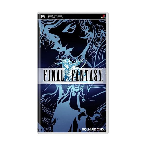 Final Fantasy Anniversary Edition Psp Mídia Física