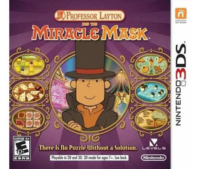 Professor Layton And The Miracle Mask Semi-novo 3ds