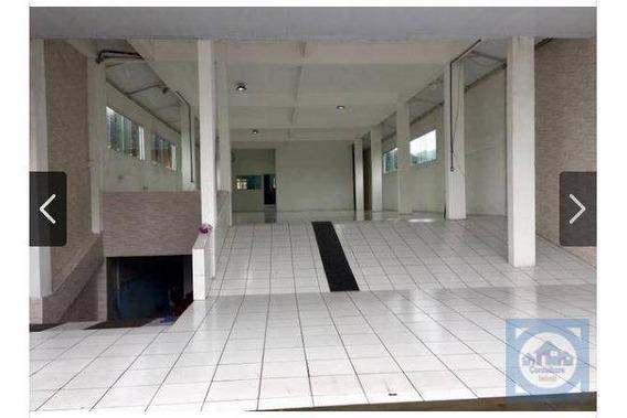 Loja Para Alugar, 800 M² Por R$ 18.500,00/mês - Chico De Paula - Santos/sp - Lo0017