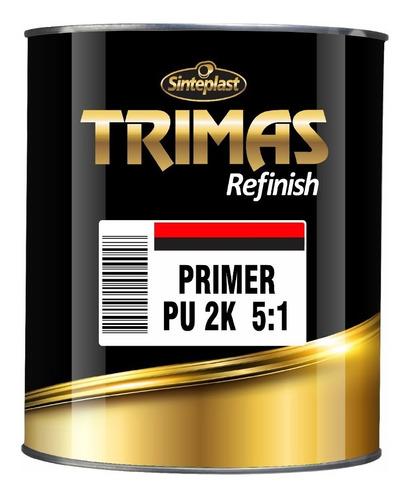 Trimas Kit Primer Pu 2k 5 A 1 750ml + Catalizador 150ml