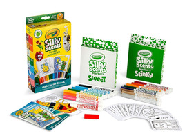 Canetinha C/ Cheiro Crayola Silly Scents Marker Activity Kit