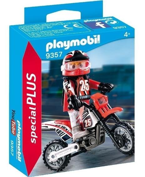 Playmobil Special Plus 9357 Motocross Original Intek