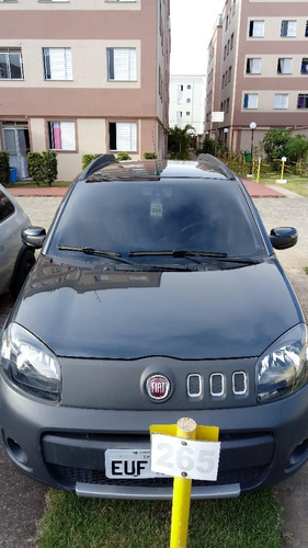 Fiat Uno 2012 1.4 Attractive Flex 3p