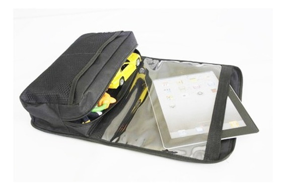 Suporte Bolsa Organizador Carro Com Case Porta Tablet