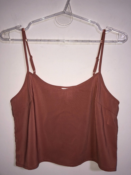Crop Top Musculosa Importada Forever 21 Talle S