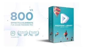 800 Presets Para Adobe Premiere Pro Efeitos Incríveis Vídeos