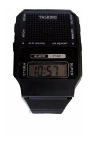 3 Relógios Fala Hora Em Português Ideal Idoso E Def Visual