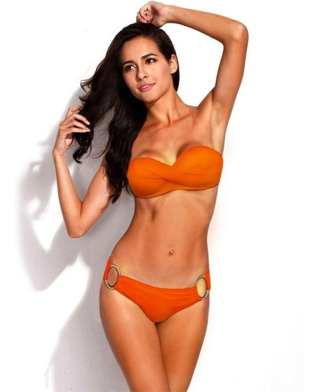Bikini Mujer Traje De Baño Sexy Push Up Varios Colores