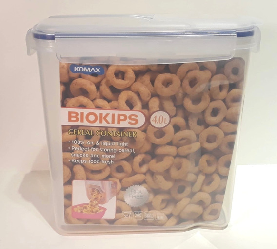 Recipiente (tupper) Hermetico P/cereales 25 X 12 X 25 Cms