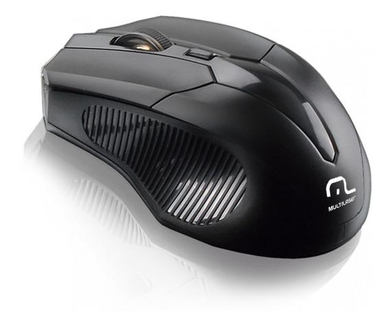 Mouse Gamer Sem Fio 2.4 Ghz Black