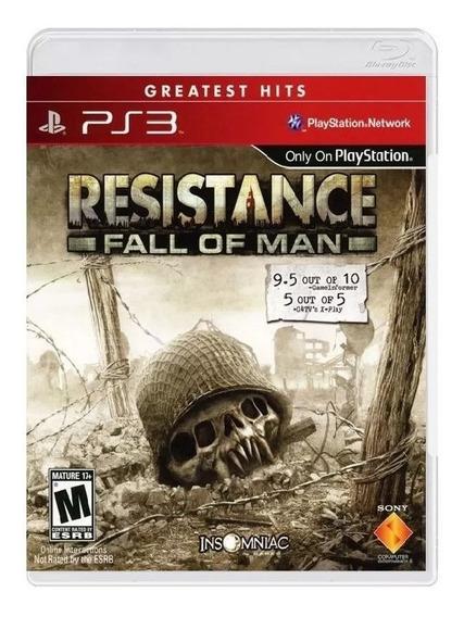 Resistance Fall Of Man Ps3 Mídia Física Novo Rj (em Inglês)