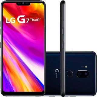 Smartphone Lg G7 Thinq Dual Chip 64gb 4g Câm 16+16mp 6.1