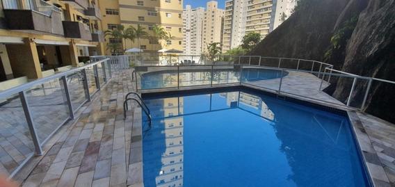 Apartamento Com Vista Para O Mar E Piscina -pitangueiras