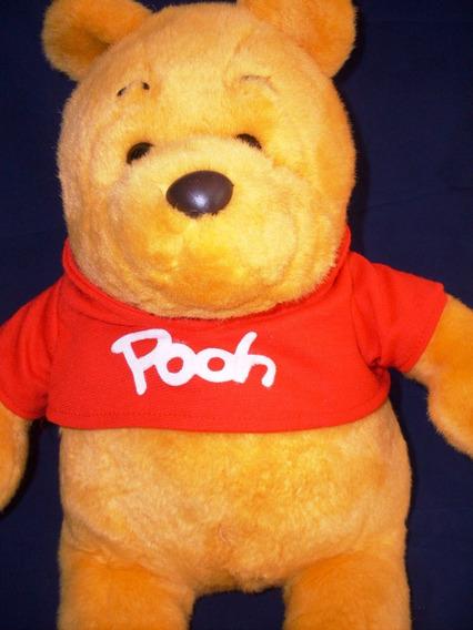 Pelúcia Ursinho Puff Pooh 35 Cm Usado - Não Funciona @p