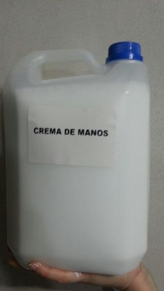 Crema De Manos Y Cuerpo X 5 Lt. Manicuras Y Revendedores