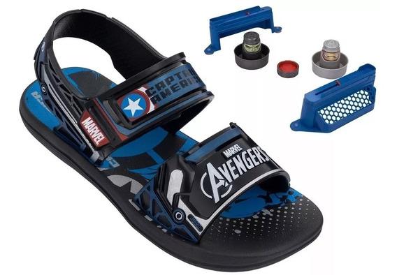 Sandália Infantil Avengers Vingadores Duelo + Brinde