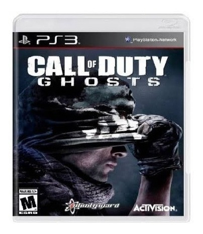 Call Of Duty Ghost Ps3 Mídia Física