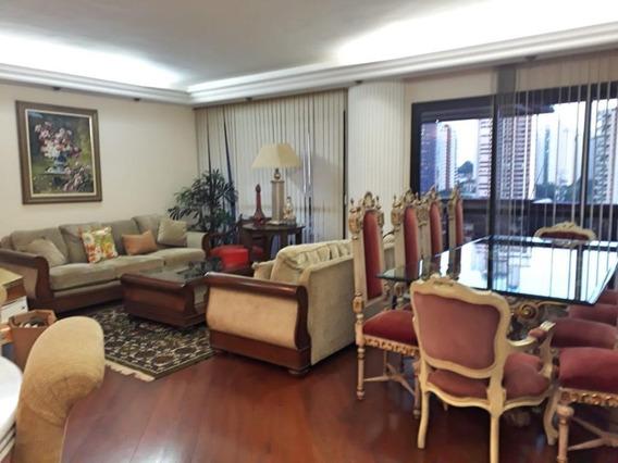 Apartamento Com 3 Dormitórios Para Alugar, 190 M² Por R$ 3.500/mês - Jardim Anália Franco - São Paulo/sp - Ap3716