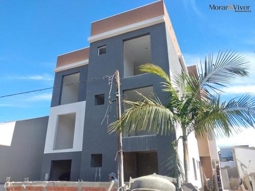 Imagem 1 de 15 de Apartamento Para Venda Em São José Dos Pinhais, São Pedro, 2 Dormitórios, 1 Banheiro, 1 Vaga - Sjp3300_1-1756387