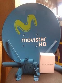 Antena Parabolica Movistar Hd, Claro Hd Y Directv