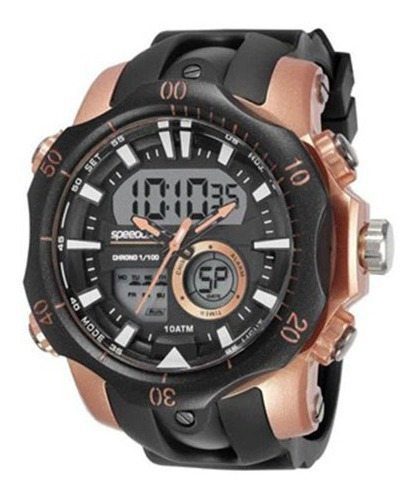 Relógio Speedo Masculino Analógico 11011g0evnp2   Novo