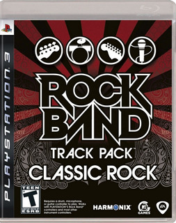 Juego Classic Rock Band Pack Ps3