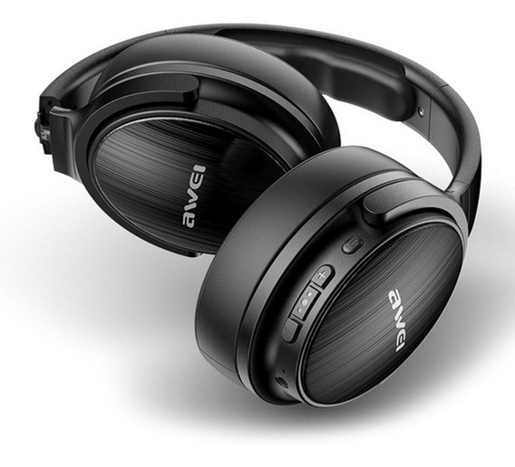 Auscultadores Awei A780bl Bluetooth V5.0 Preto
