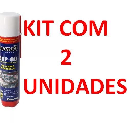 2 Descarbonizante Limpa Tbi E Corpo Borboleta Drp-80 Radnaq