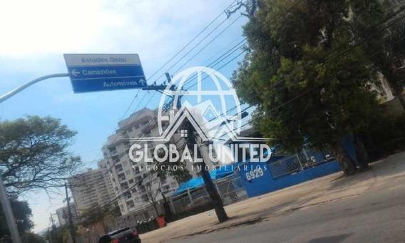 Terreno Com Prédio Comercial De 2 Andares Em Frente Aos Estúdios Globo Na Estrada Dos Bandeirantes - Rega00002