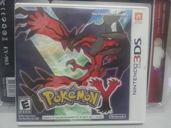 Pokemon Y P/nintendo 3ds - Eua Frete Gratis