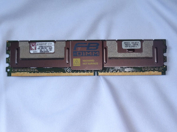 Memória Ddr2 4gb Fb-dimm Kvr667d2d4f5/4g Servidor/macpro